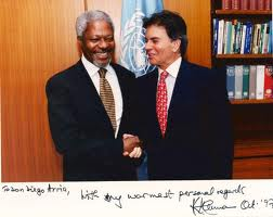 Diego Arria Salicetti was Embassador to the United Nations and President of the Security Council (1992-1993). Ex-Governor of Caracas and Fellow Council on Foreign Relations and Visiting Scholar of Columbia University.